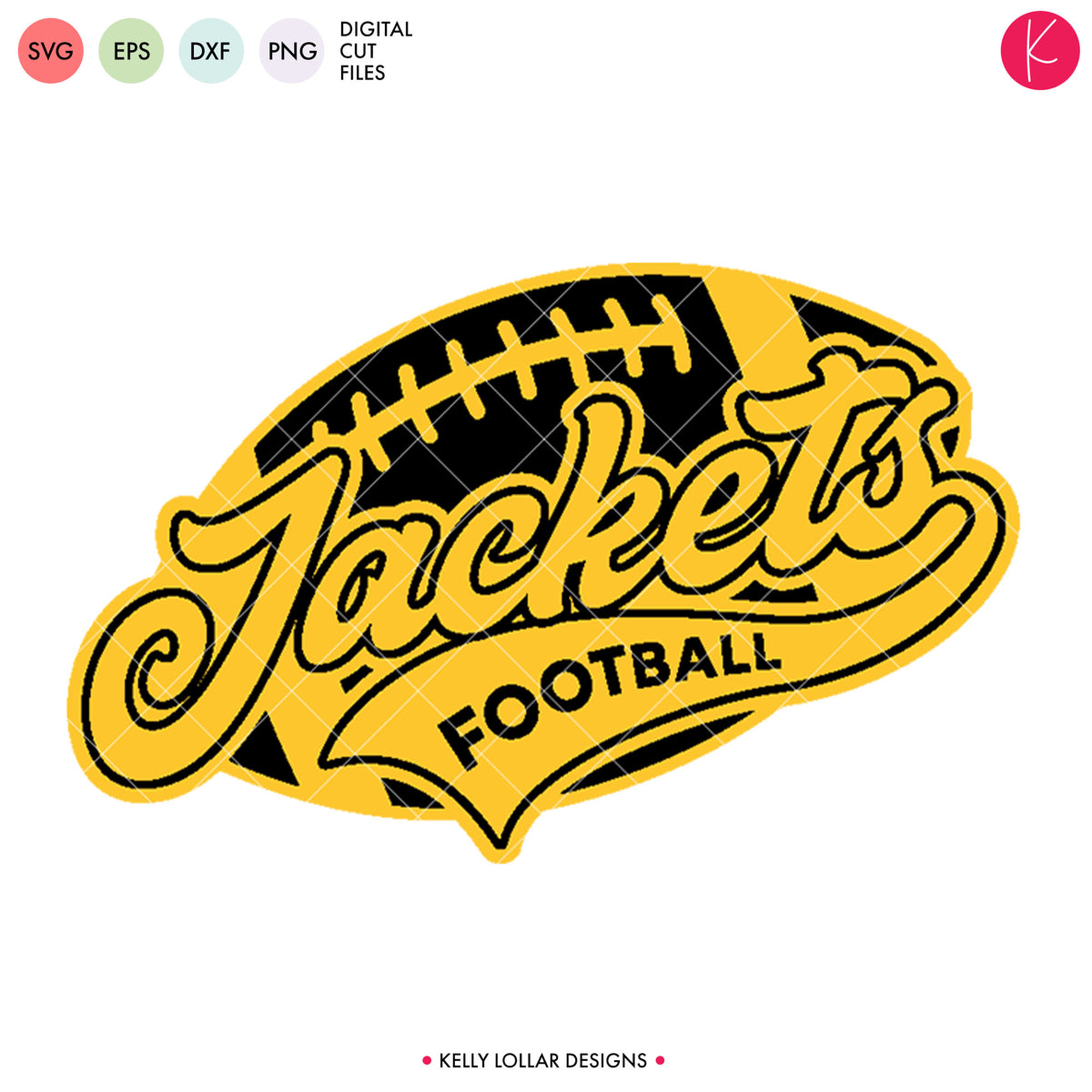 Jackets Football Bundle | SVG DXF EPS PNG Cut Files