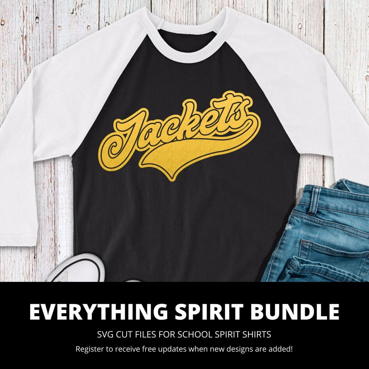 Jackets Everything Spirit Bundle | SVG DXF EPS PNG Cut Files