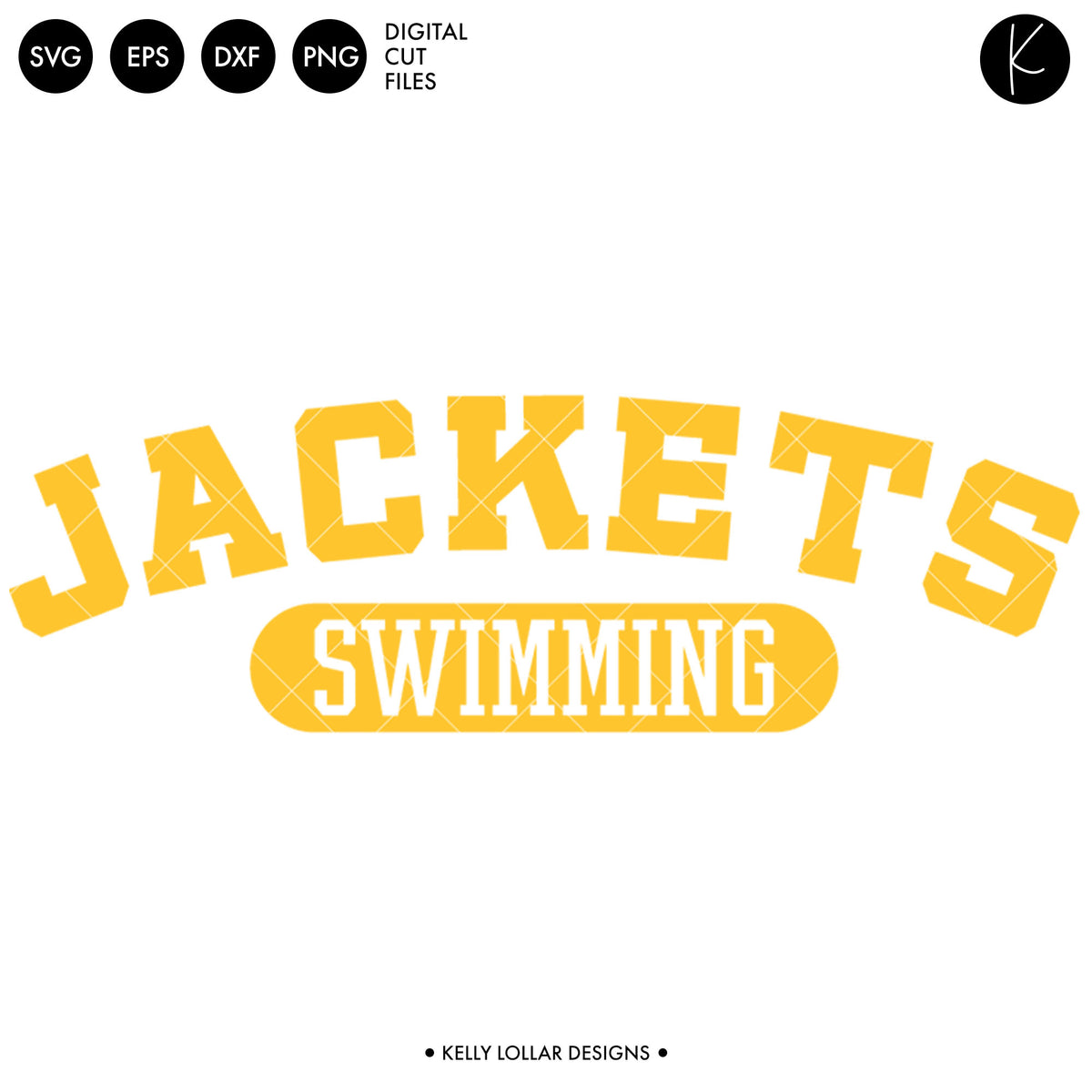 Jackets Swim Bundle | SVG DXF EPS PNG Cut Files