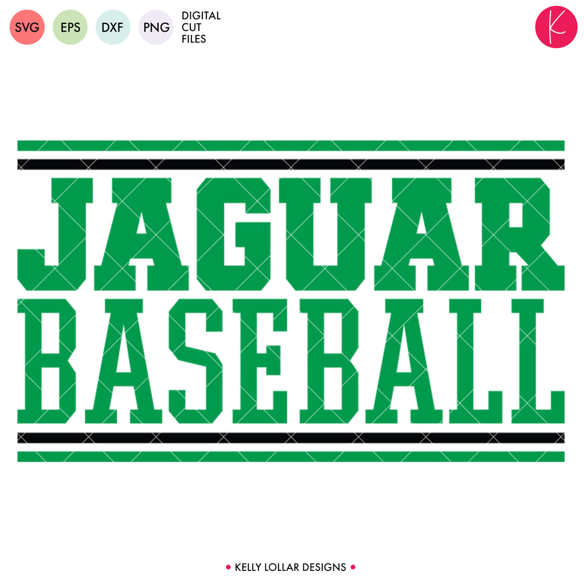 Jaguars Baseball Bundle | SVG DXF EPS PNG Cut Files