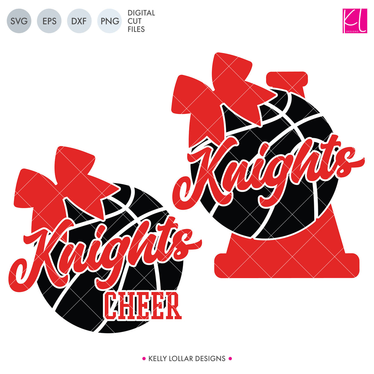 Knights Basketball Bundle | SVG DXF EPS PNG Cut Files