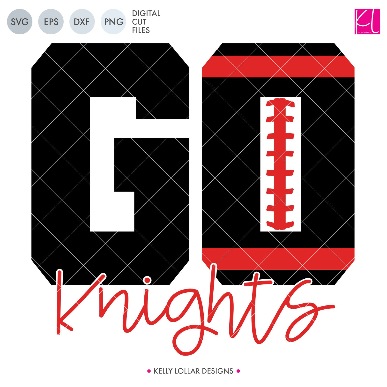 Knights Football Bundle | SVG DXF EPS PNG Cut Files This fifteen piece Knight Football Bundle was created with school crafters in mind. Create an assortment of spirit shirts with choices ranging from family designs to monograms to classic. 15