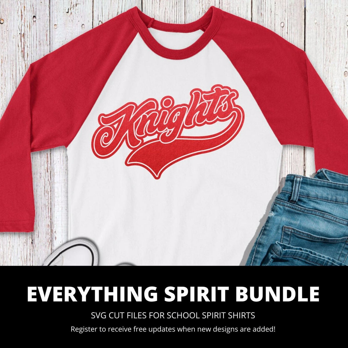 Knights Everything Spirit Bundle | SVG DXF EPS PNG Cut Files
