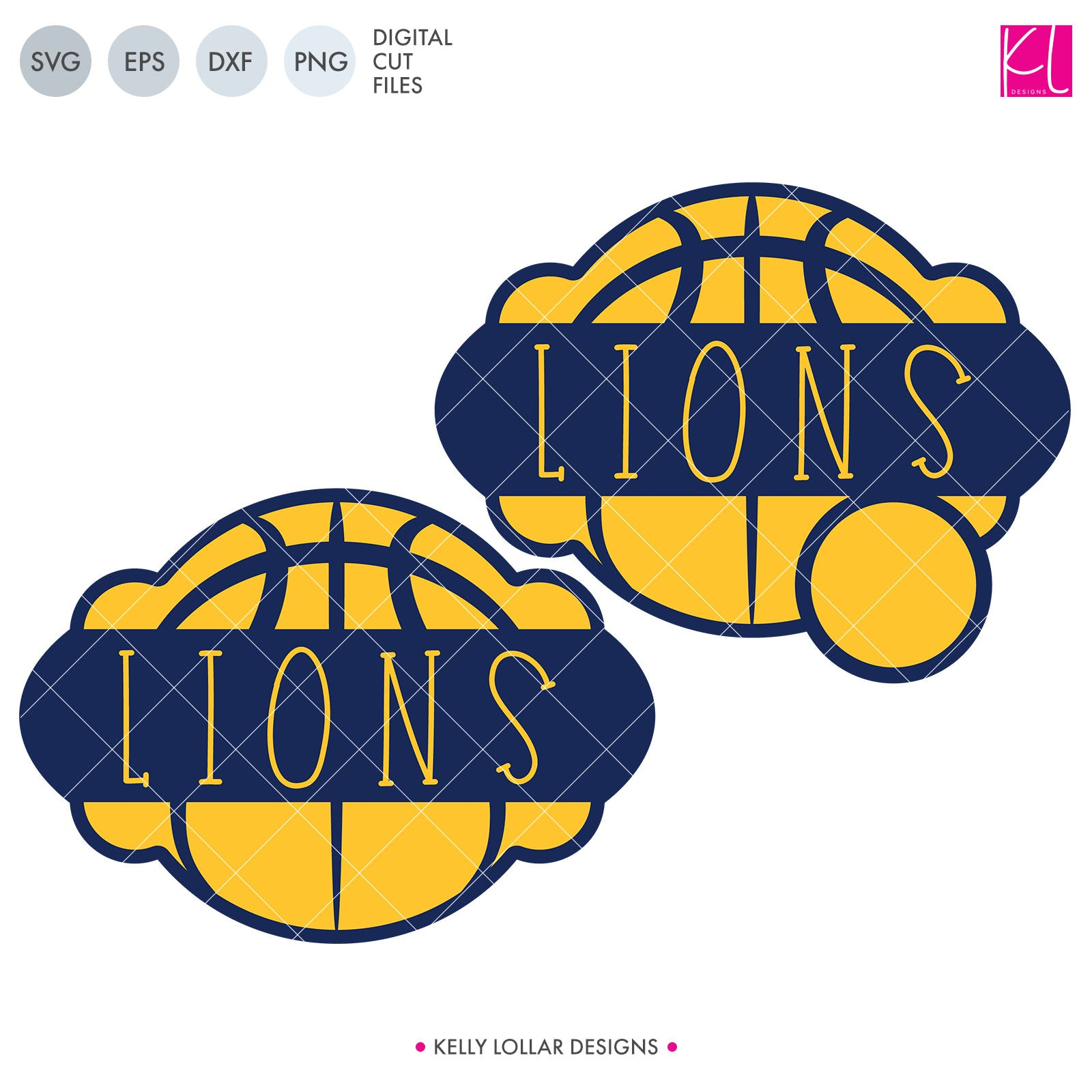Lions Basketball Bundle | SVG DXF EPS PNG Cut Files It's basketball season, so you Lion Basketball crafter know what that means ... new spirit shirts! This fourteen-piece bundle includes a little something for everyone - from girly and cute