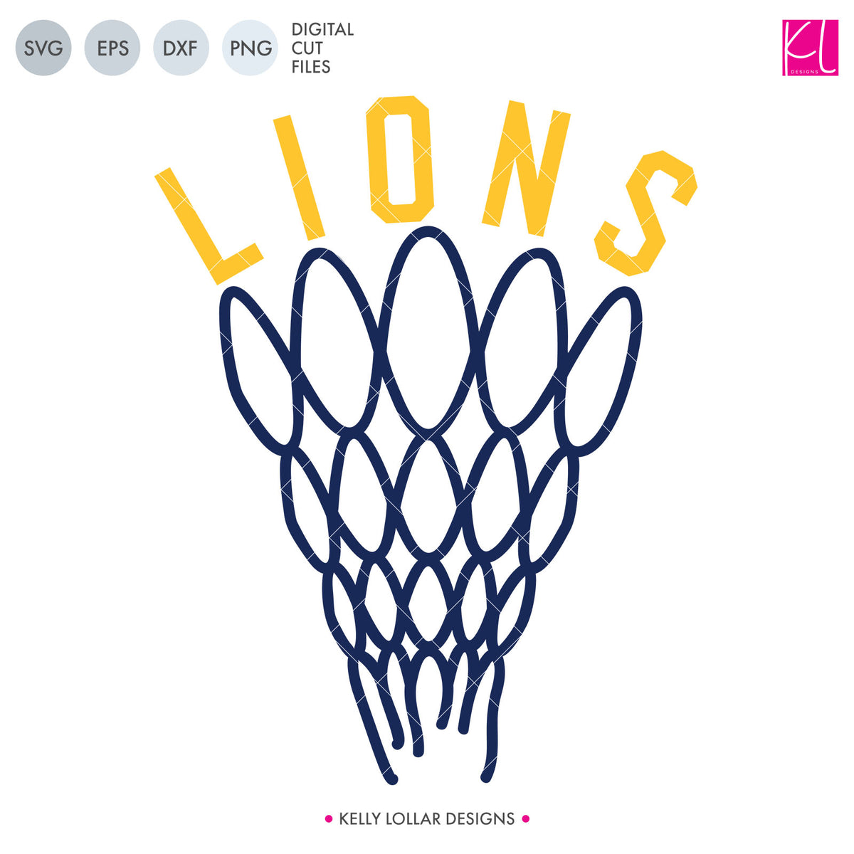 Lions Basketball Bundle | SVG DXF EPS PNG Cut Files