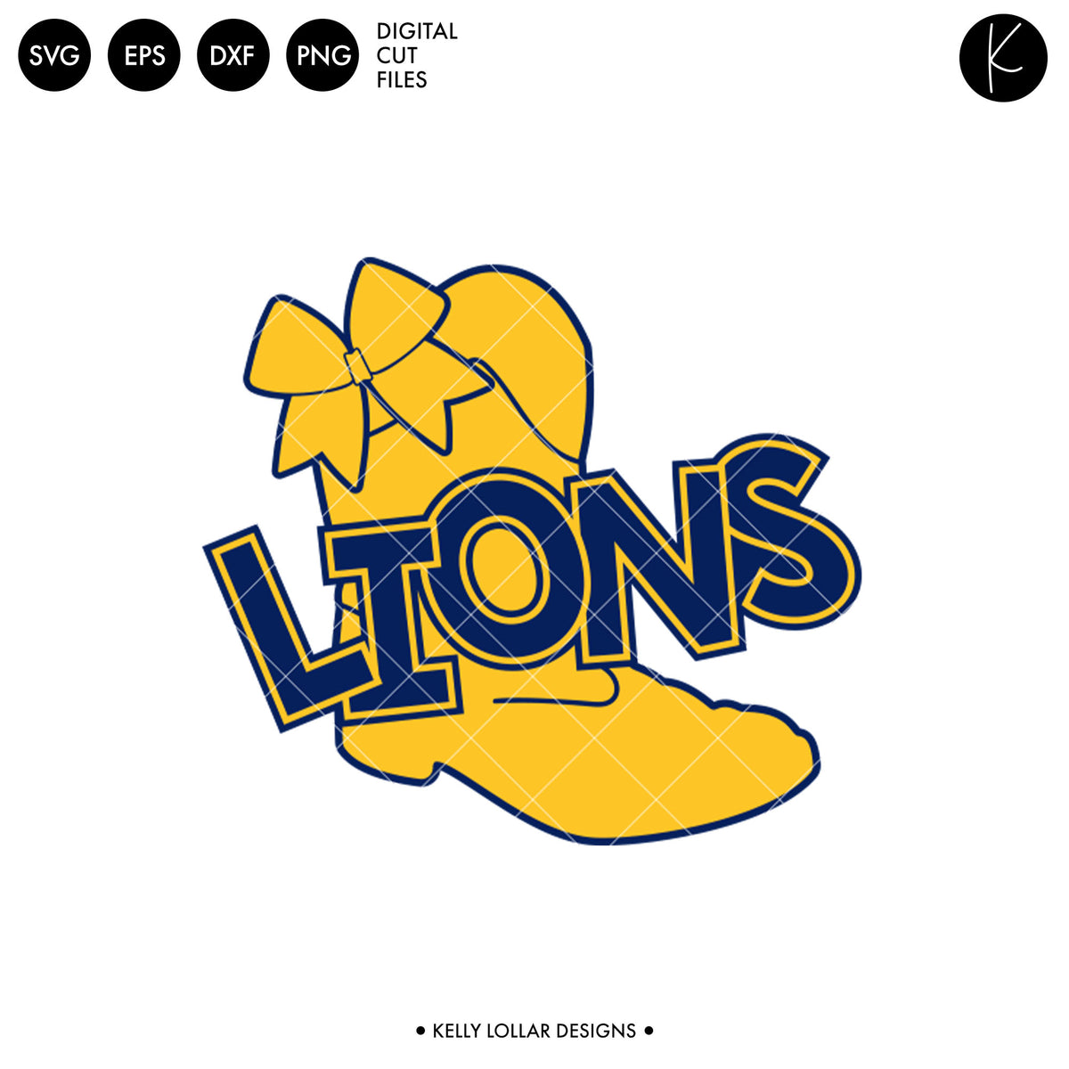 Lions Drill Bundle | SVG DXF EPS PNG Cut Files