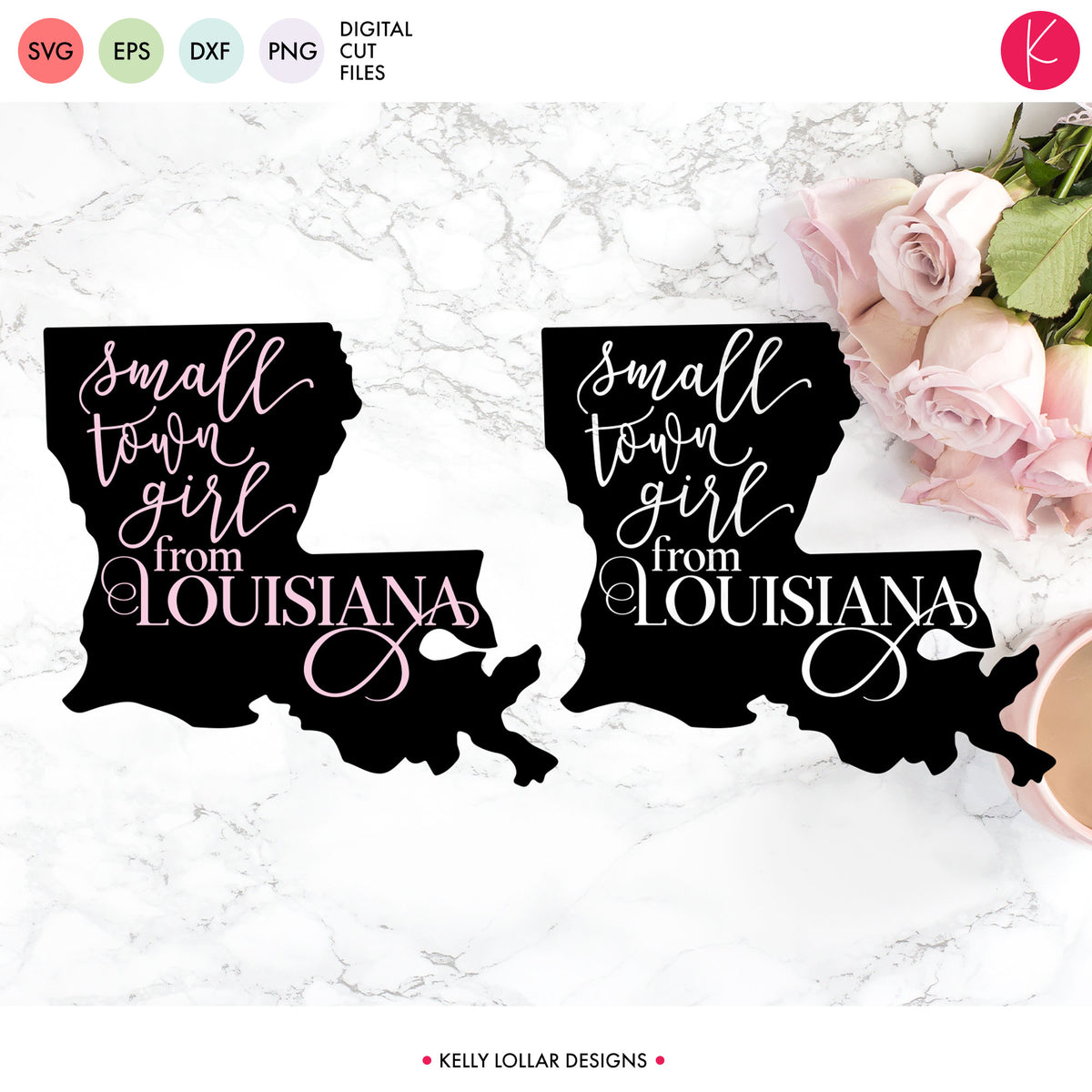 Louisiana State Bundle | SVG DXF EPS PNG Cut Files