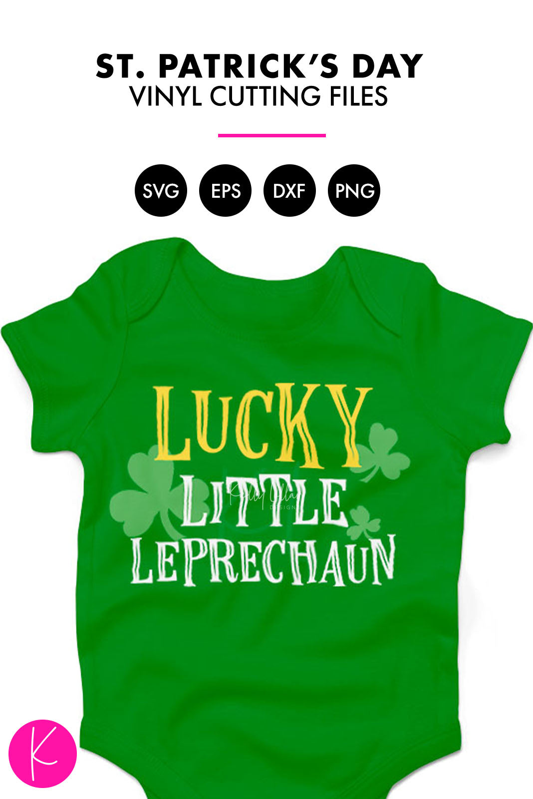 Lucky Little Leprechaun | SVG DXF EPS PNG Cut Files