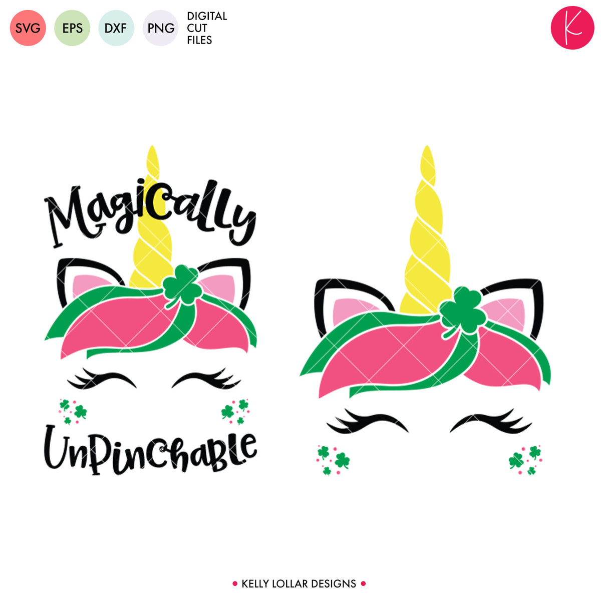 Magically Unpinchable Unicorn | SVG DXF EPS PNG Cut Files