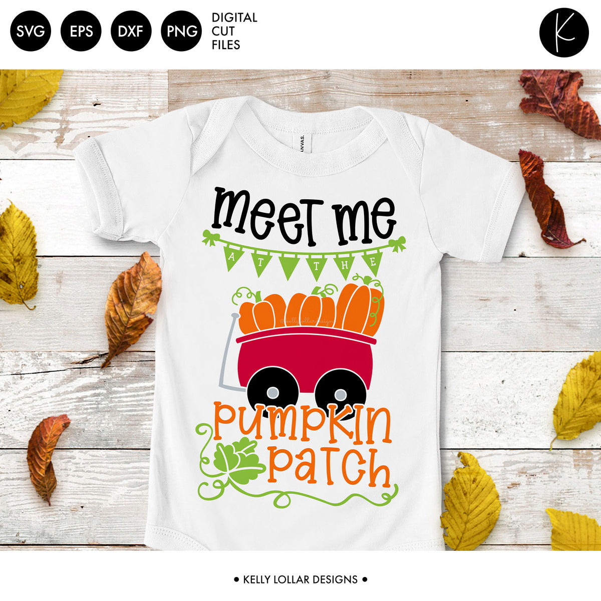 Meet Me at the Pumpkin Patch | SVG DXF EPS PNG Cut Files