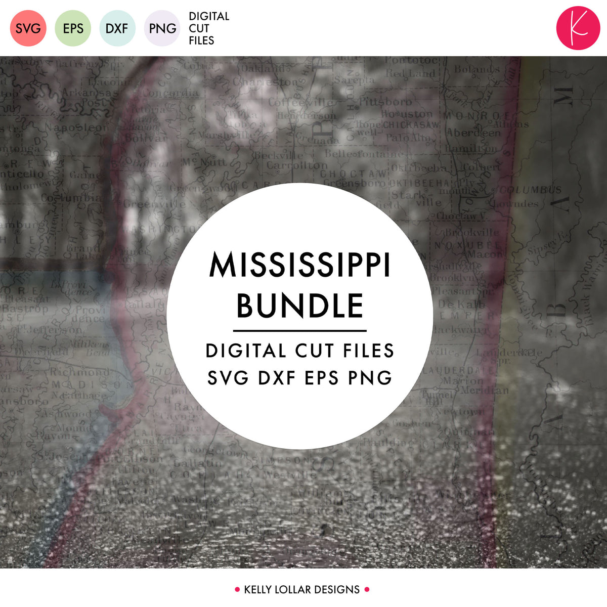 Mississippi State Bundle | SVG DXF EPS PNG Cut Files