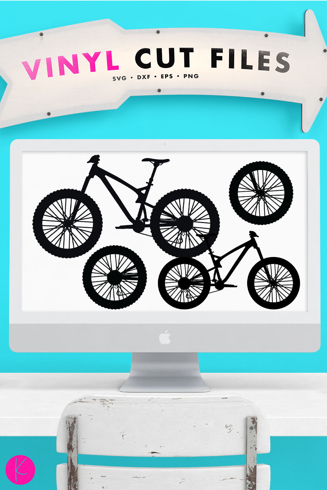 Mountain Bike | SVG DXF EPS PNG Cut Files Trail Bicycle Silhouette | SVG DXF EPS PNG Cut Files Trail Bike cut file for decals, shirts, totes and more.Looking for a Mountain Bike svg for that mountain biking enthusiast
