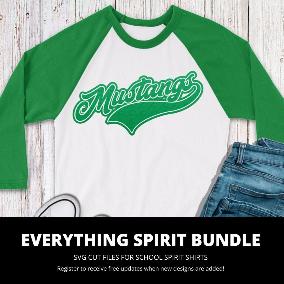 Mustangs Everything Spirit Bundle | SVG DXF EPS PNG Cut Files