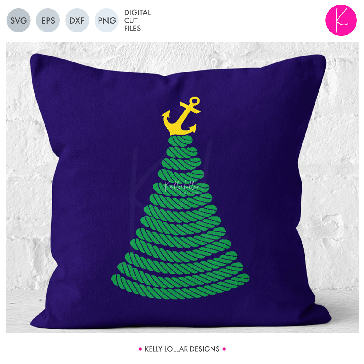 Nautical Christmas Tree | SVG DXF EPS PNG Cut Files