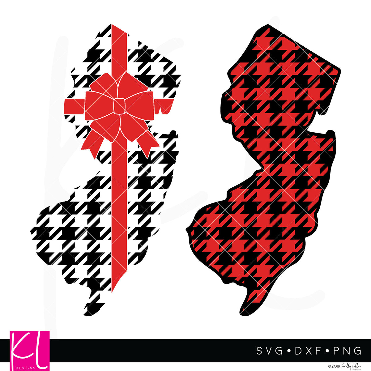 New Jersey State Bundle | SVG DXF EPS PNG Cut Files