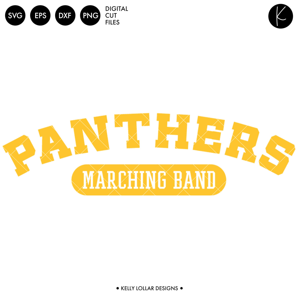 Panthers Band Bundle | SVG DXF EPS PNG Cut Files