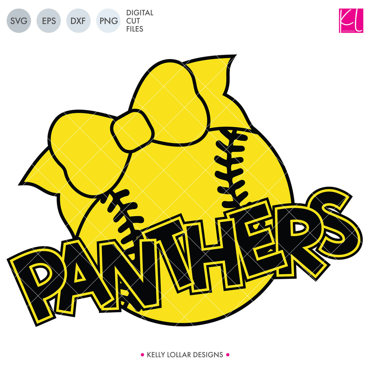 Panthers Baseball & Softball Bundle | SVG DXF EPS PNG Cut Files