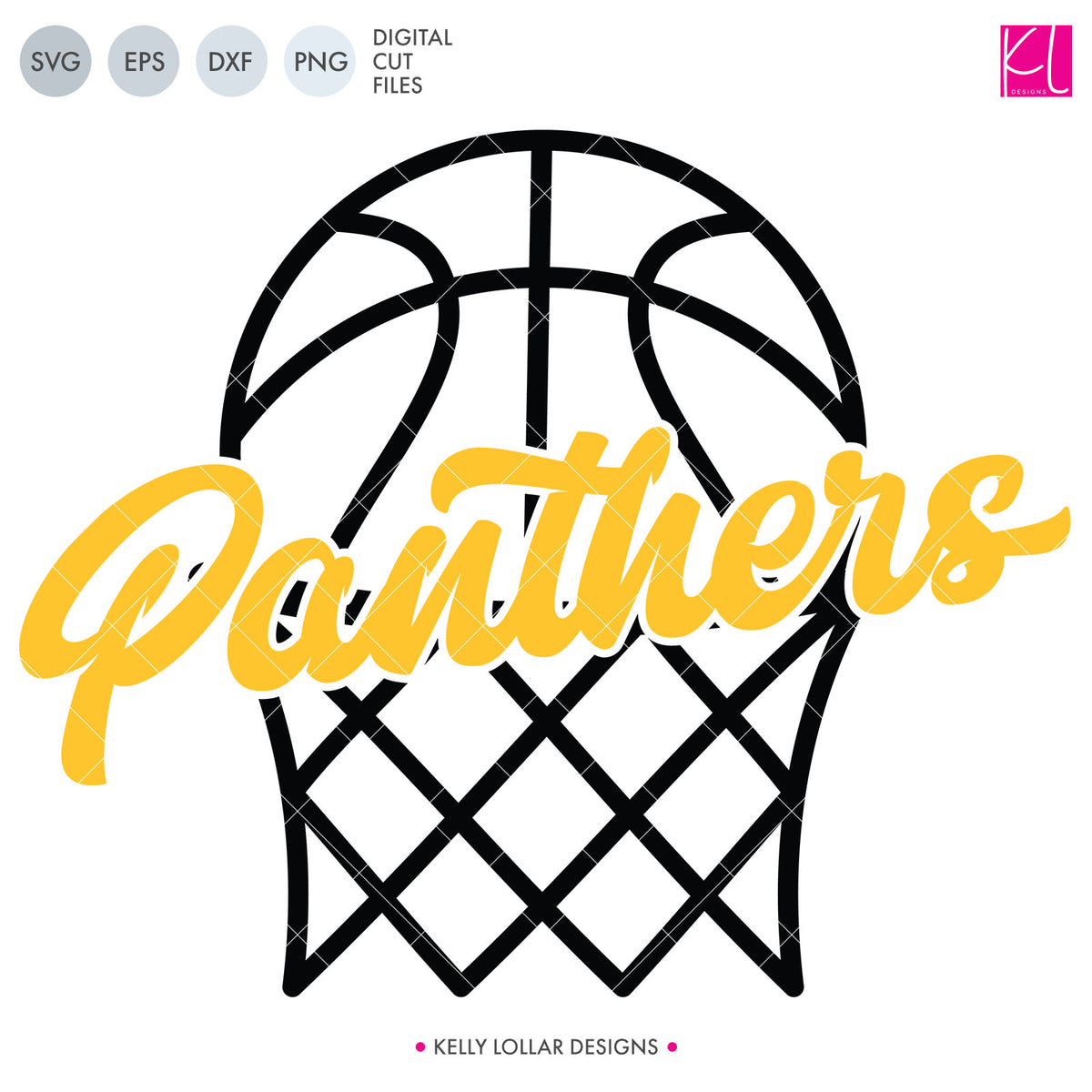 Panthers Basketball Bundle | SVG DXF EPS PNG Cut Files