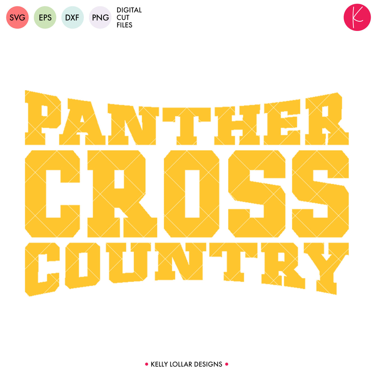 Panthers Cross Country Bundle | SVG DXF EPS PNG Cut Files