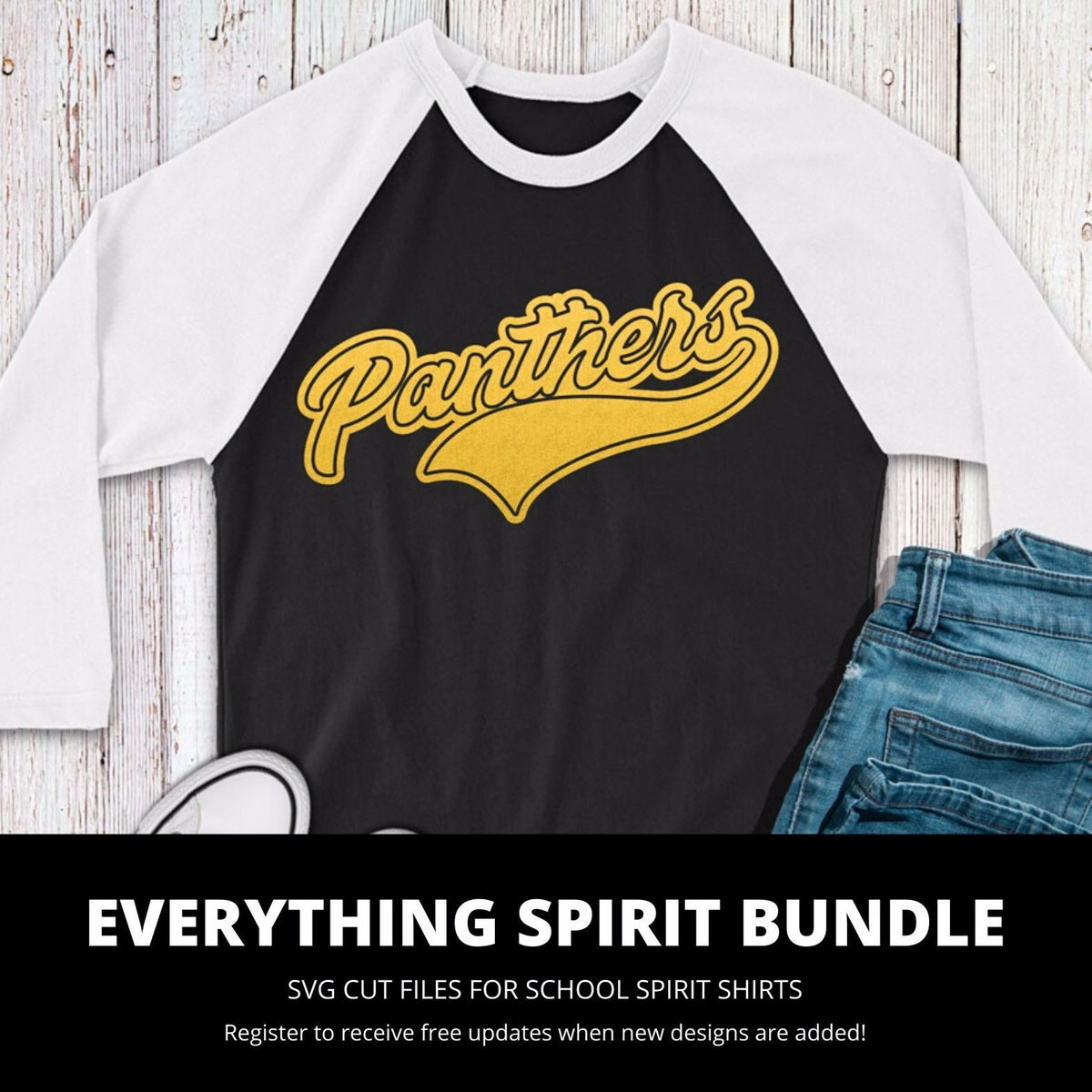 Panthers Everything Spirit Bundle | SVG DXF EPS PNG Cut Files