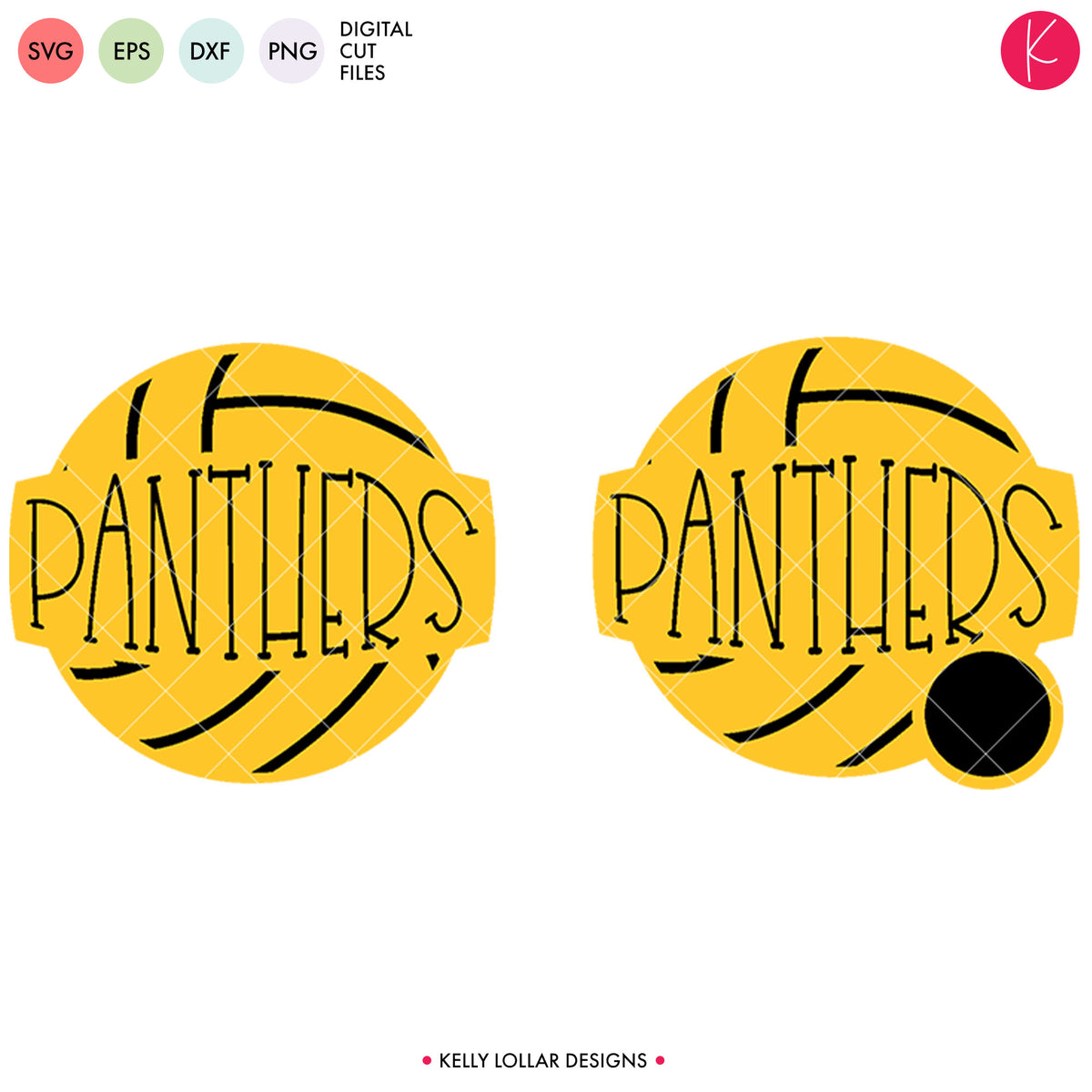 Panthers Volleyball Bundle | SVG DXF EPS PNG Cut Files