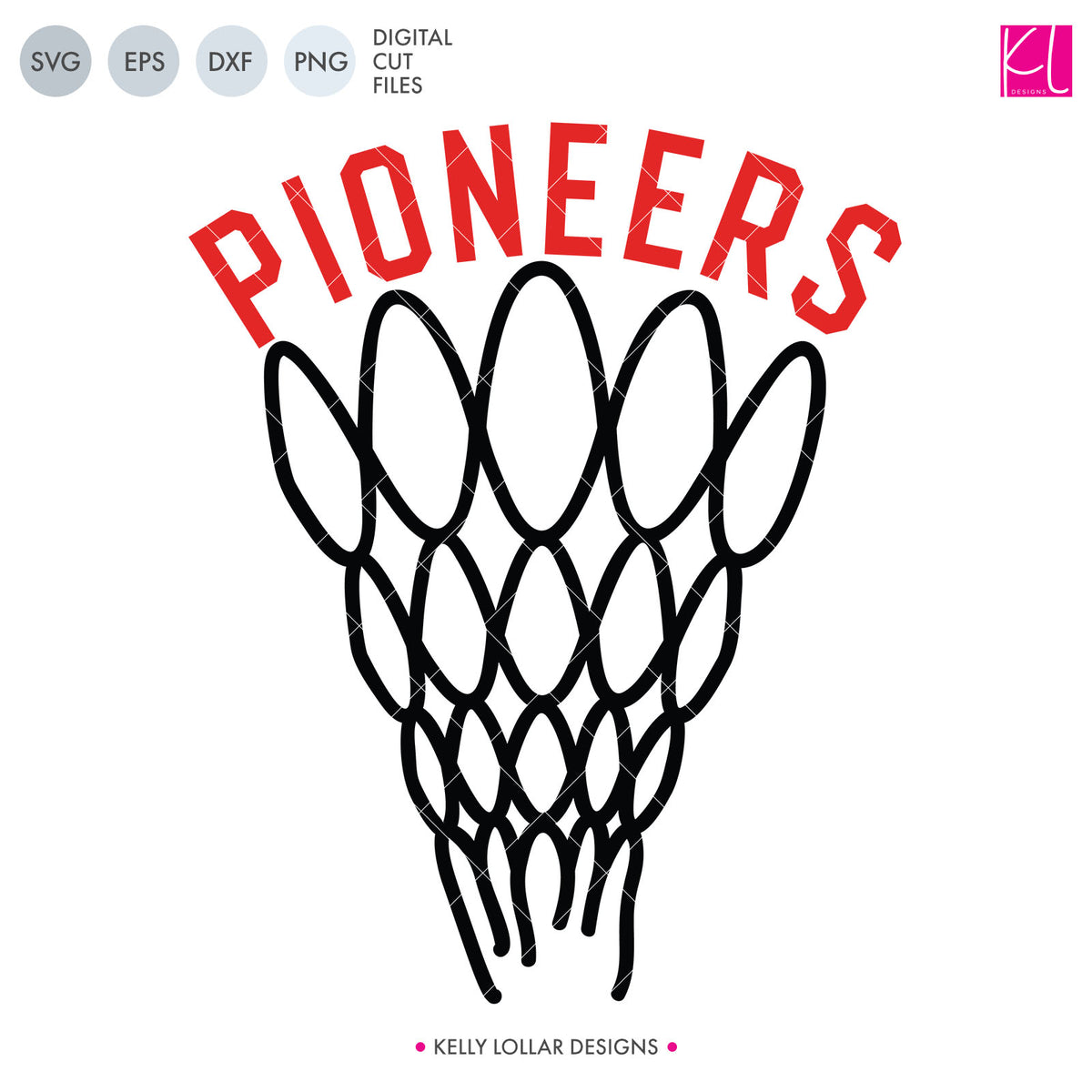 Pioneers Basketball Bundle | SVG DXF EPS PNG Cut Files