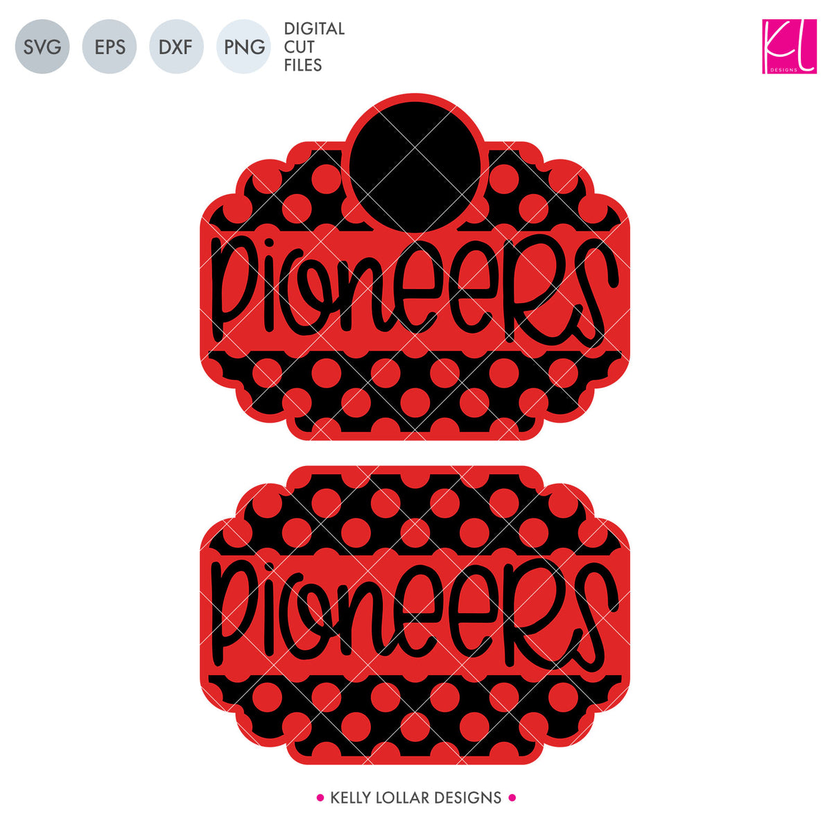 Pioneers Mascot Bundle | SVG DXF EPS PNG Cut Files