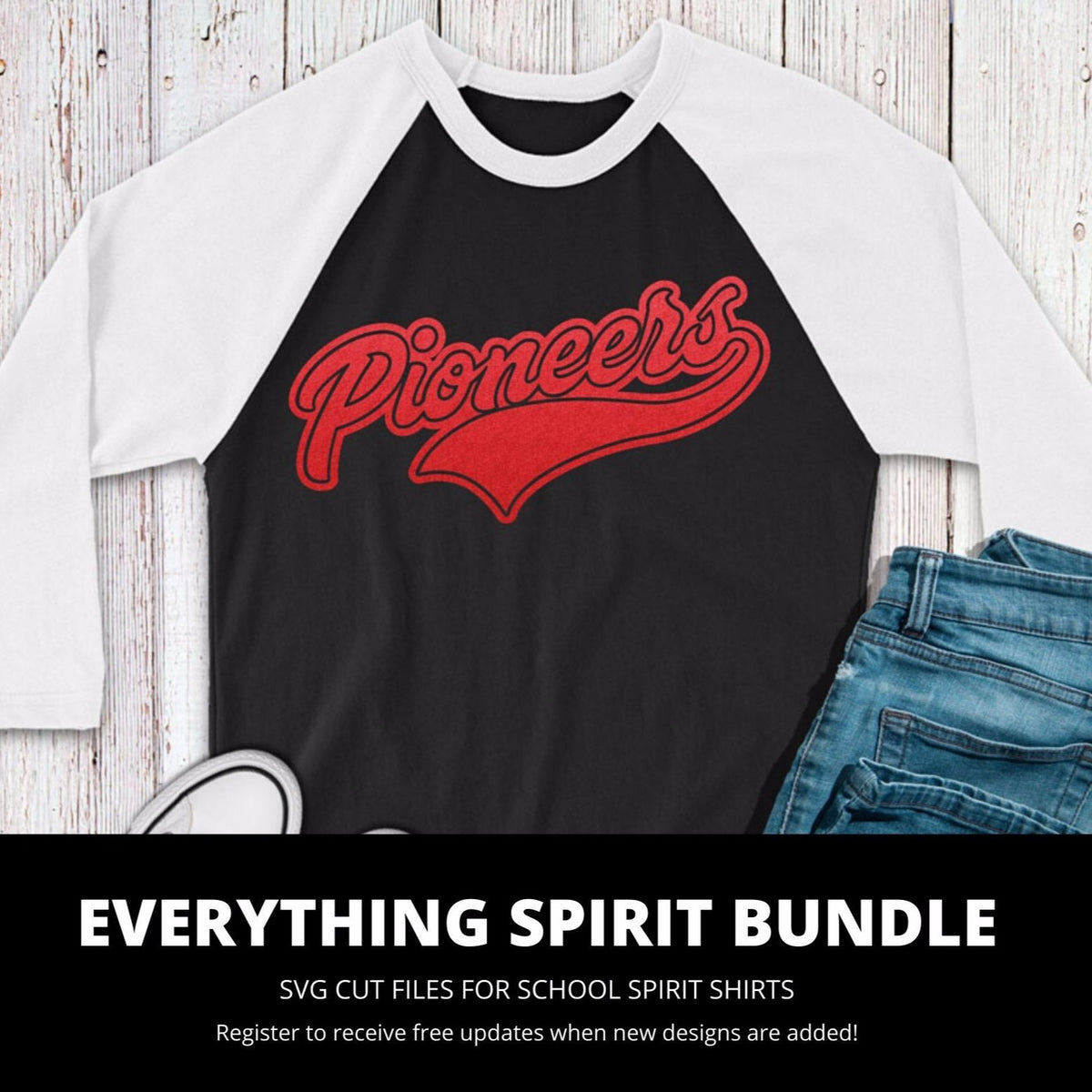 Pioneers Everything Spirit Bundle | SVG DXF EPS PNG Cut Files