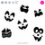 Pumpkin Faces | SVG DXF EPS PNG Cut Files