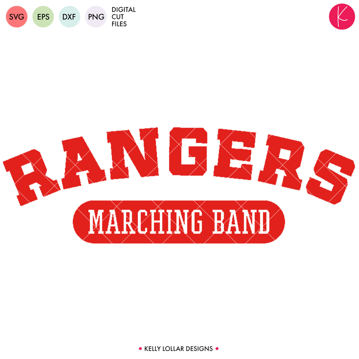 Rangers Band Bundle | SVG DXF EPS PNG Cut Files