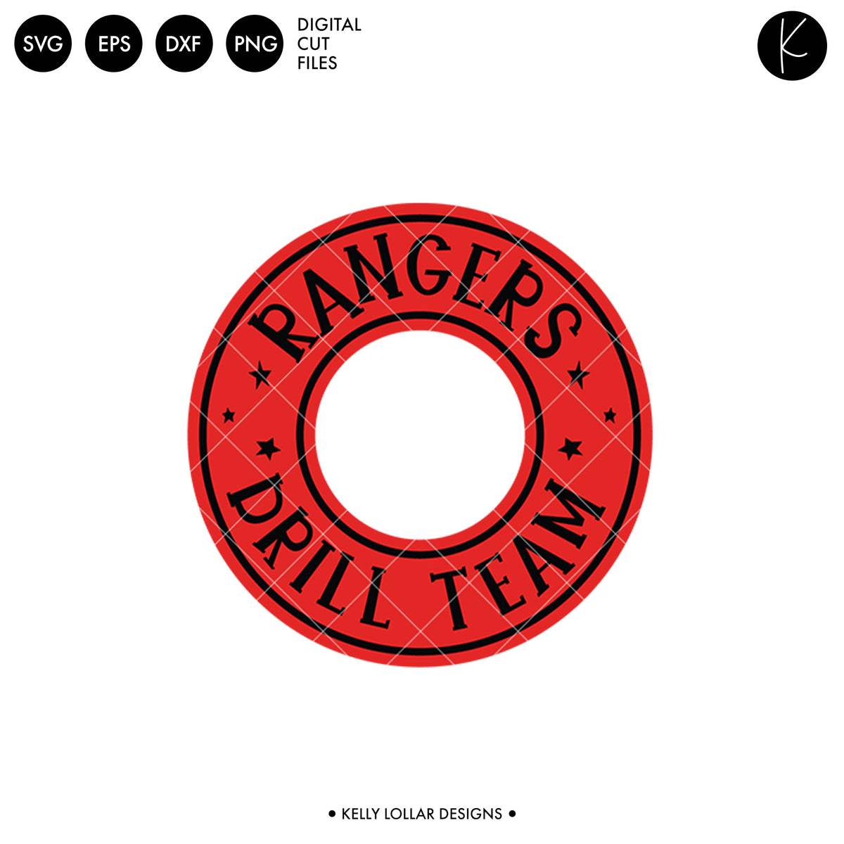Rangers Drill Bundle | SVG DXF EPS PNG Cut Files