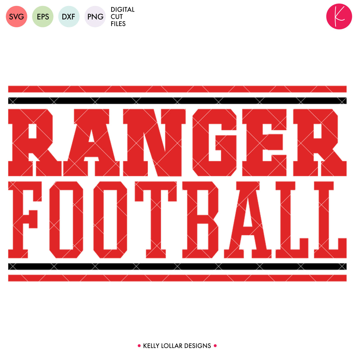 Rangers Football Bundle | SVG DXF EPS PNG Cut Files