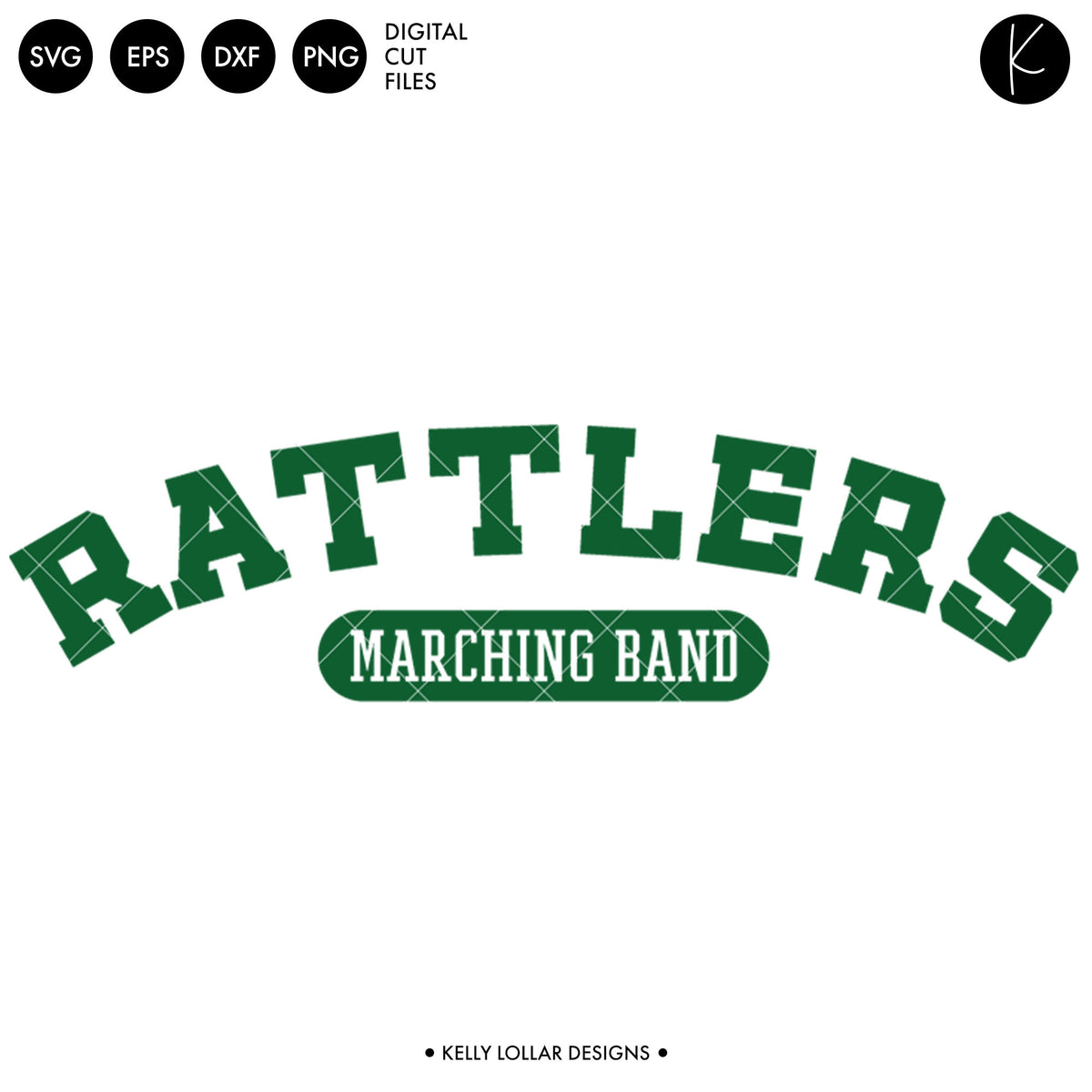 Rattlers Band Bundle | SVG DXF EPS PNG Cut Files
