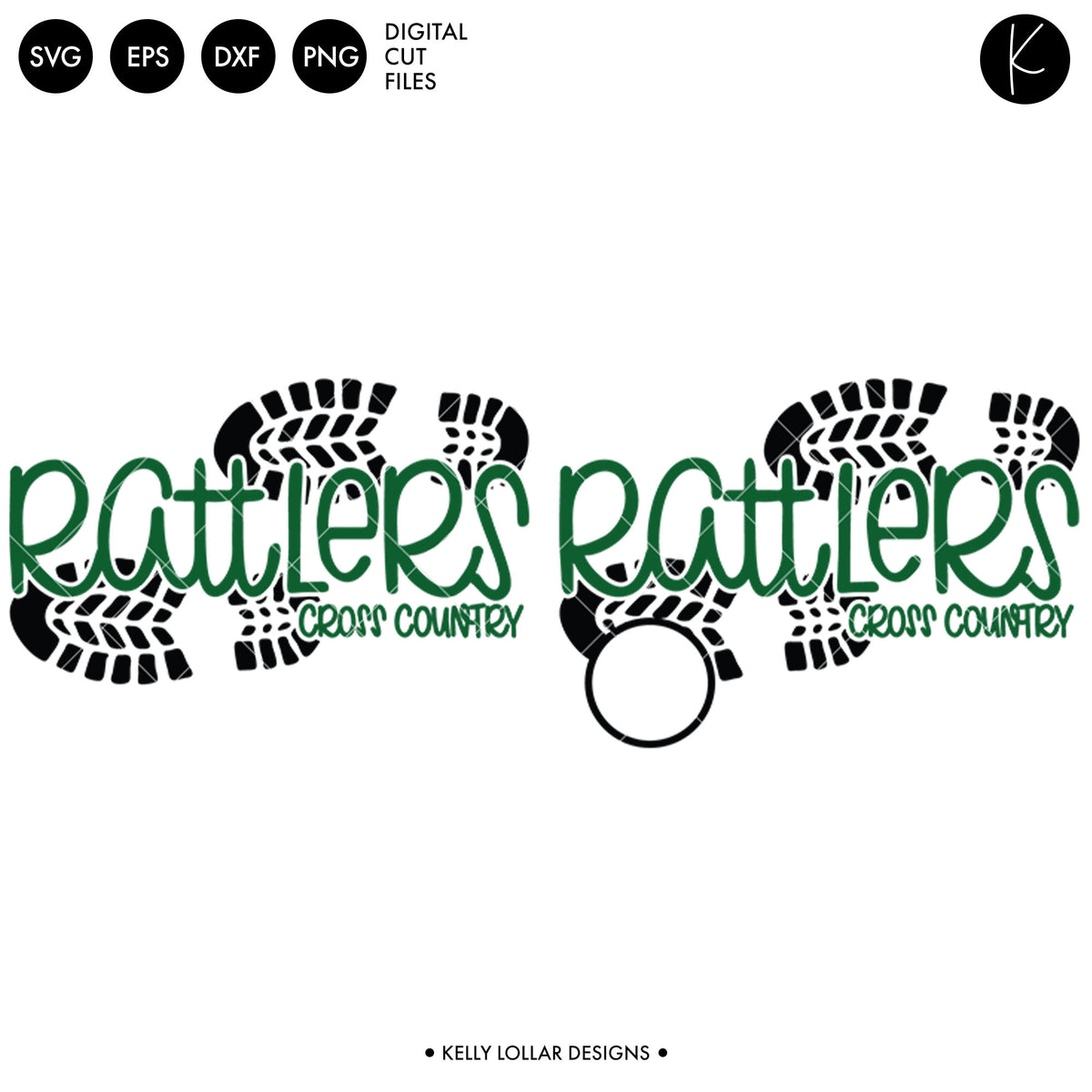 Rattlers Cross Country Bundle | SVG DXF EPS PNG Cut Files