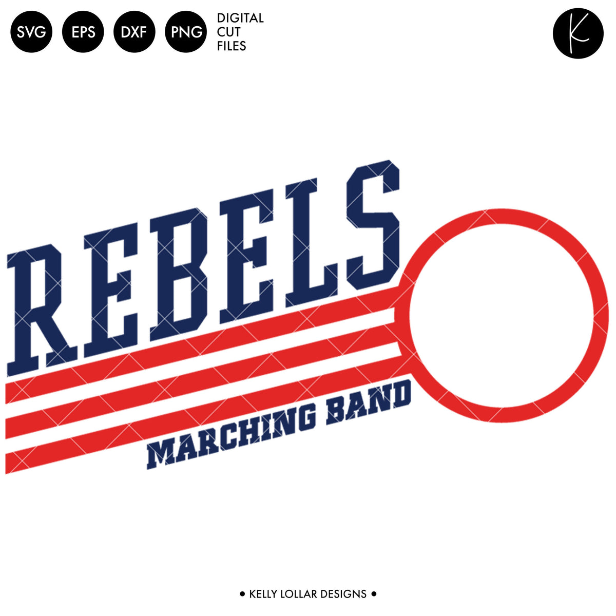 Rebels Band Bundle | SVG DXF EPS PNG Cut Files