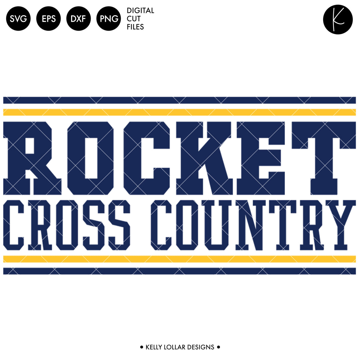 Rockets Cross Country Bundle | SVG DXF EPS PNG Cut Files