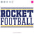 Rockets Football Bundle | SVG DXF EPS PNG Cut Files