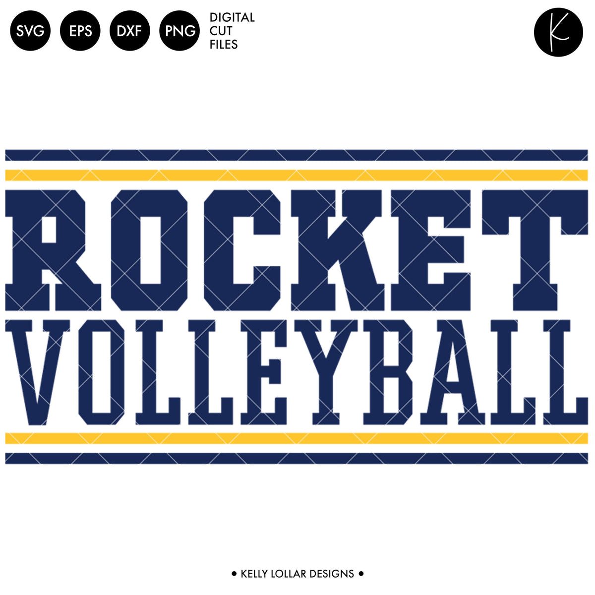 Rockets Volleyball Bundle | SVG DXF EPS PNG Cut Files