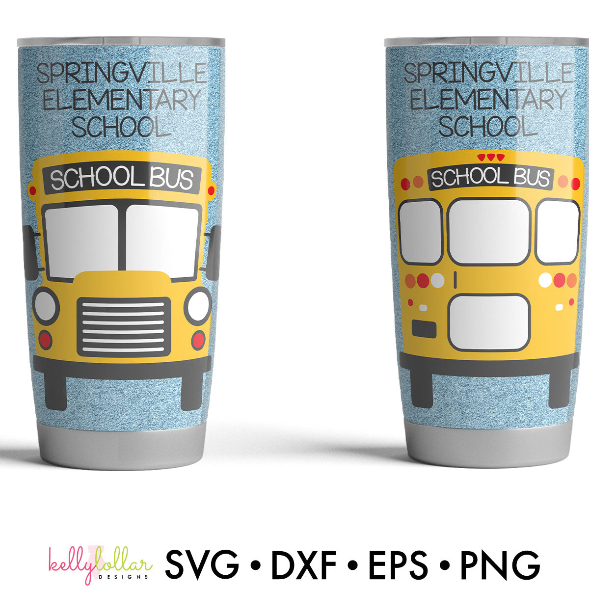 School Bus | SVG DXF EPS PNG Cut Files Clip Art Style School Bus with Replaceable Text | SVG DXF EPS PNG Cut Files Cute, cartoon school bus great for back to school projects and bus driver gifts.This is