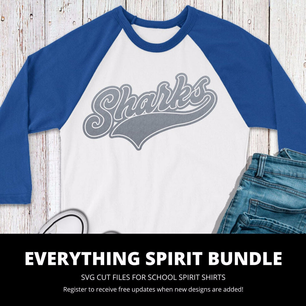 Sharks Everything Spirit Bundle | SVG DXF EPS PNG Cut Files