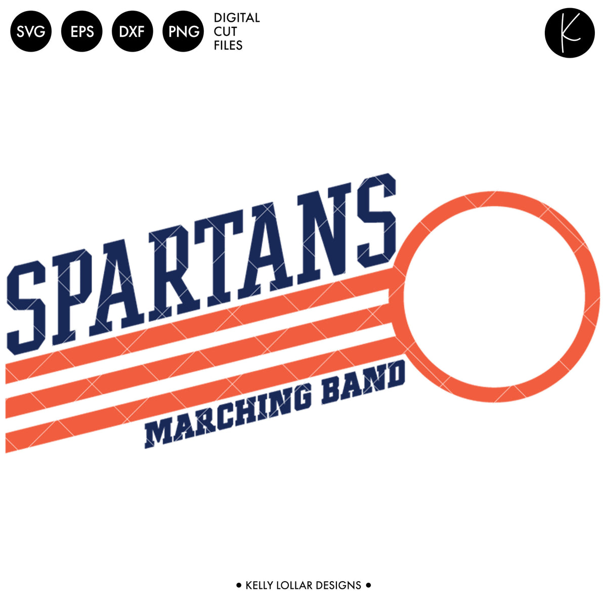Spartans Band Bundle | SVG DXF EPS PNG Cut Files