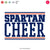Spartans Cheer Bundle | SVG DXF EPS PNG Cut Files