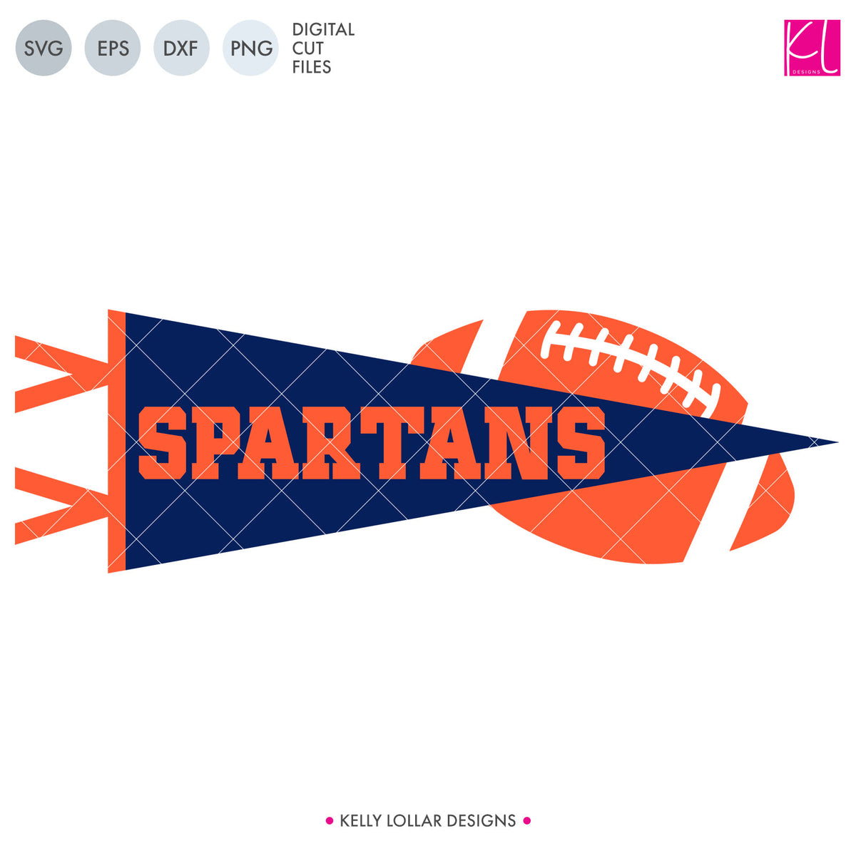 Spartans Football Bundle | SVG DXF EPS PNG Cut Files