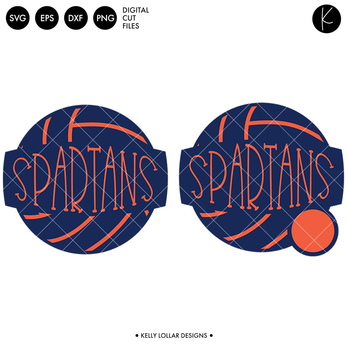 Spartans Volleyball Bundle | SVG DXF EPS PNG Cut Files