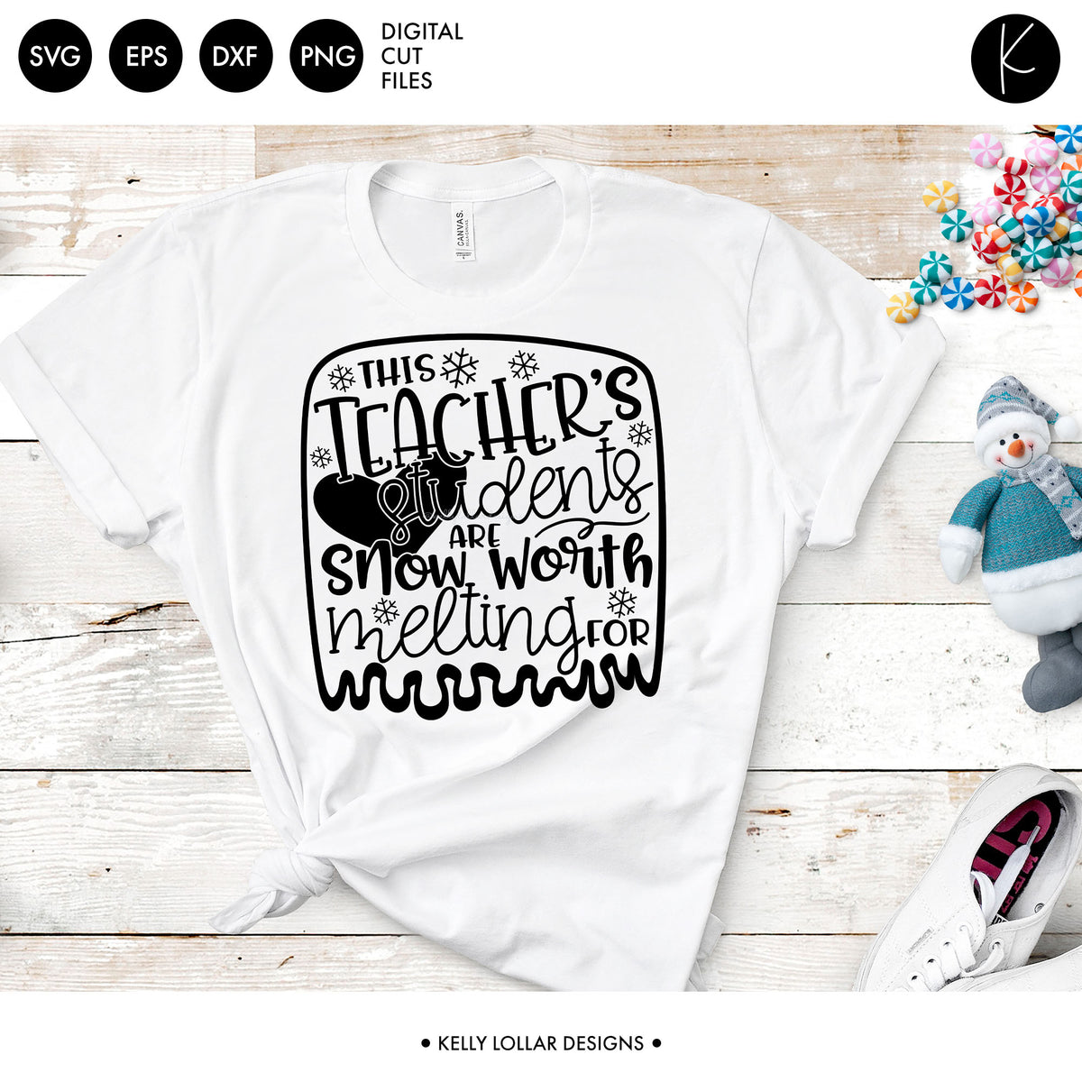 This Teacher's Students Are Worth Melting For | SVG DXF EPS PNG Cut Files