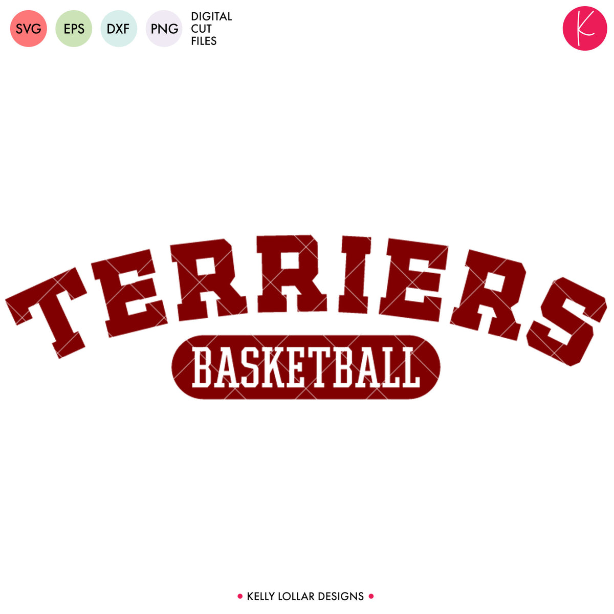 Terriers Basketball Bundle | SVG DXF EPS PNG Cut Files