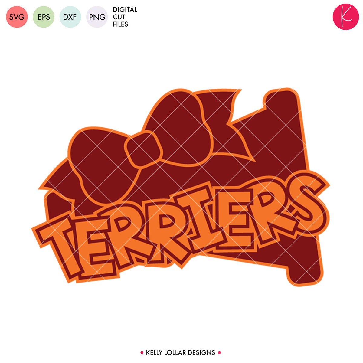 Terriers Cheer Bundle | SVG DXF EPS PNG Cut Files