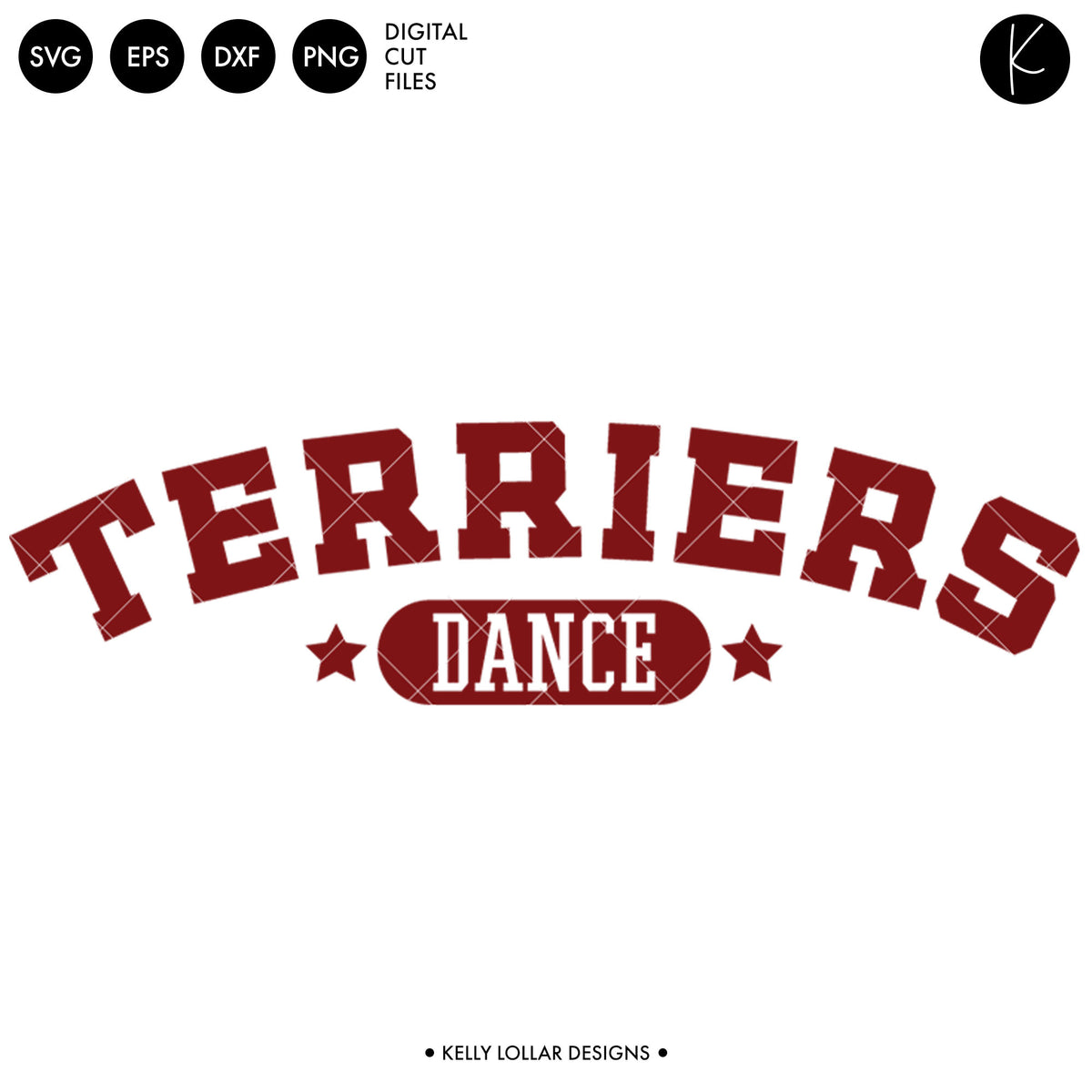Terriers Dance Bundle | SVG DXF EPS PNG Cut Files