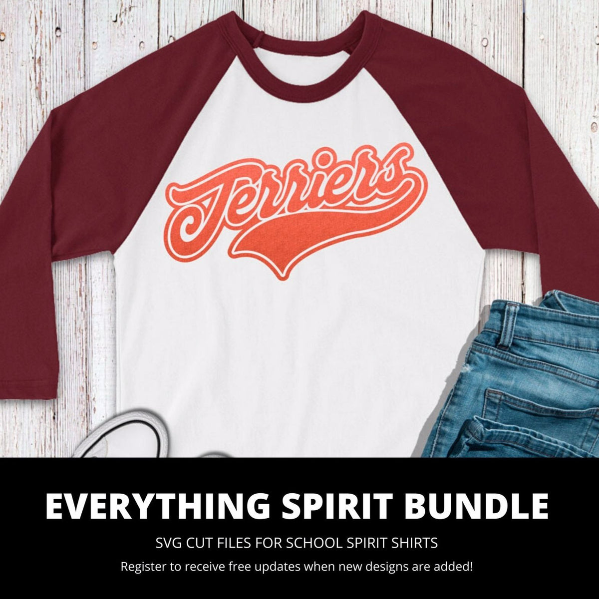 Terriers Everything Spirit Bundle | SVG DXF EPS PNG Cut Files