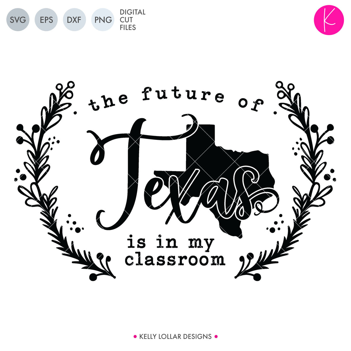 Texas State Bundle | SVG DXF EPS PNG Cut Files